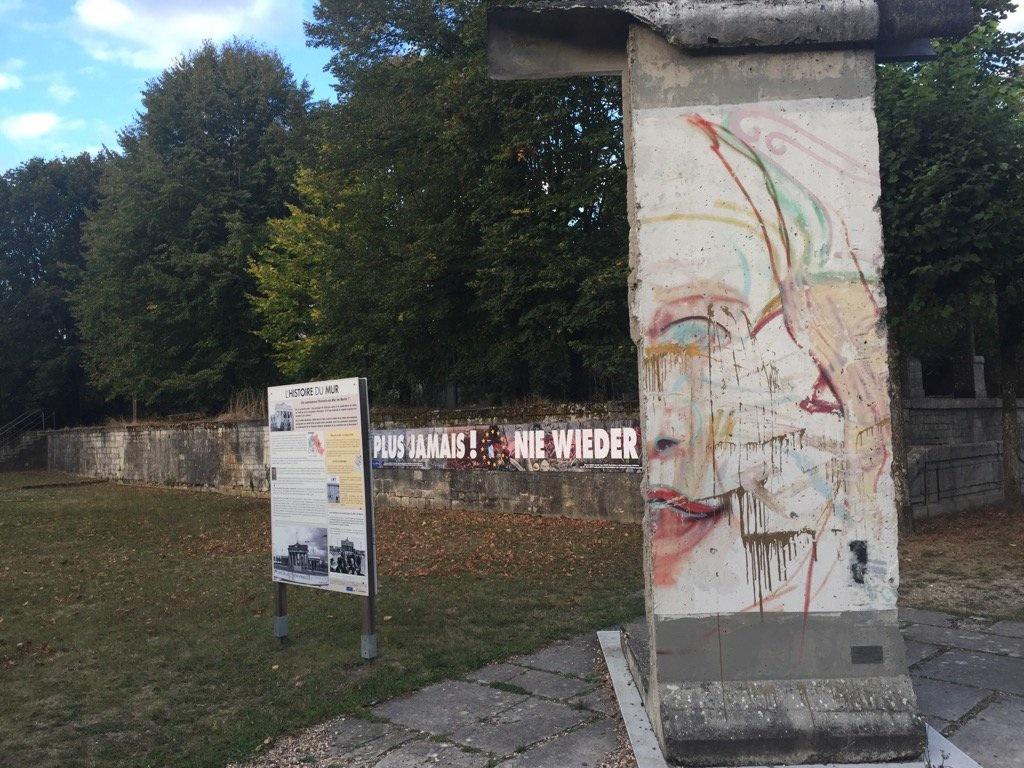 Berliner Mauer in Verdun