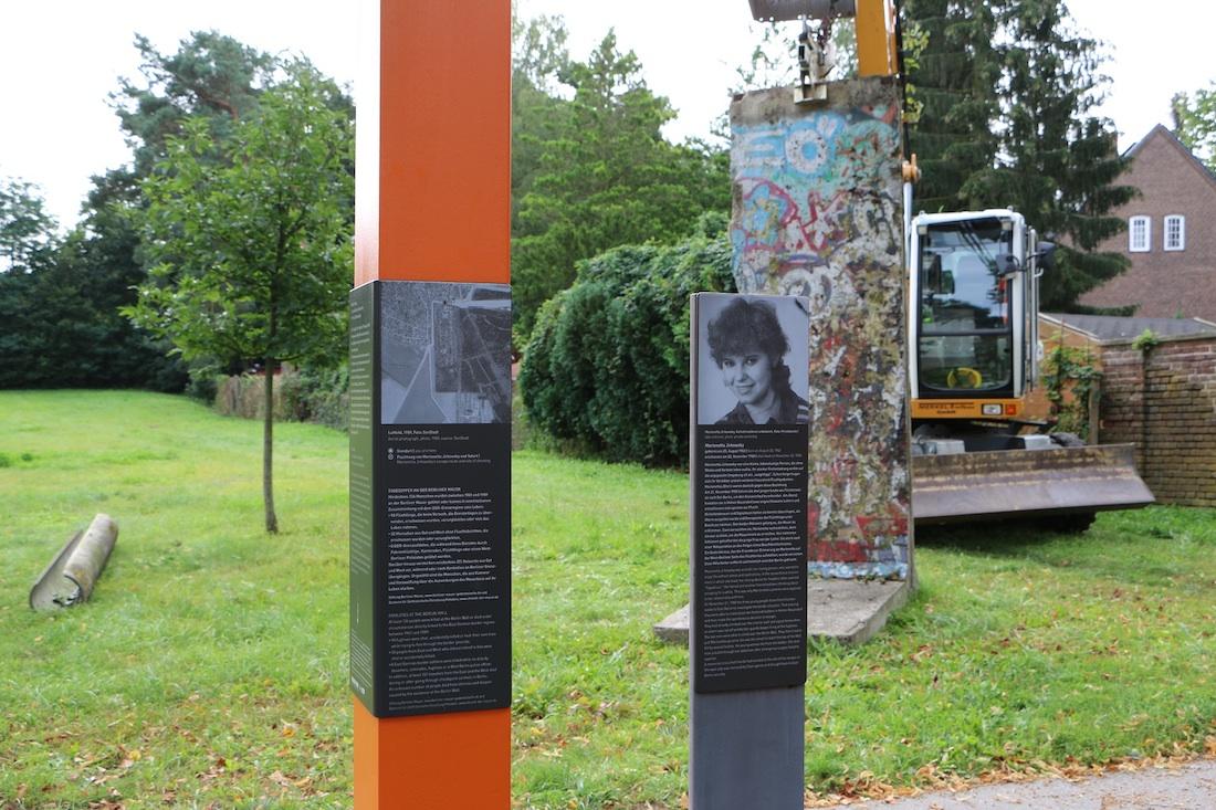 Berliner Mauer in Hohen-Neuendorf
