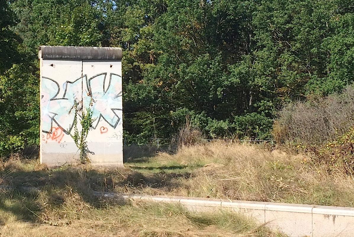 Berlin Mauer in Stuttgart, D