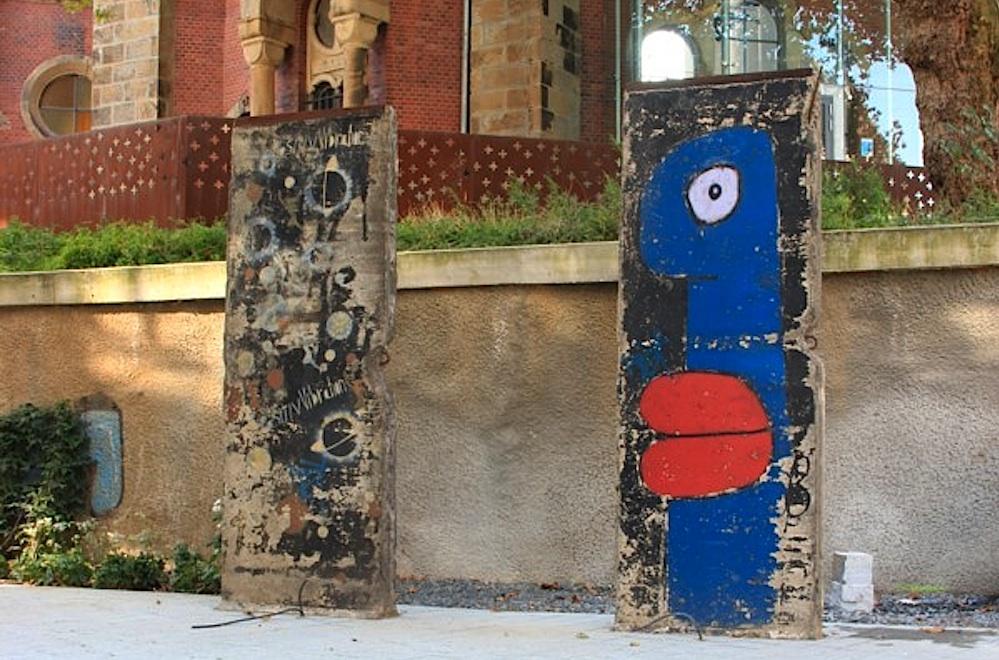 Berliner Mauer in Essen, D