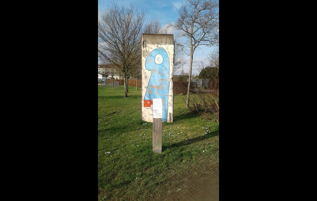 Berlin Mauer in Bischofsheim