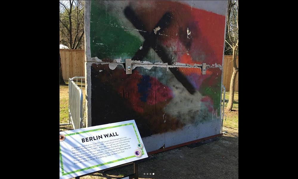 Berliner Mauer in Memphis, TN