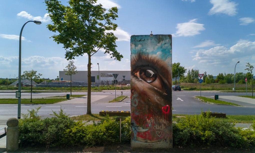 Berliner Mauer in Schönefeld