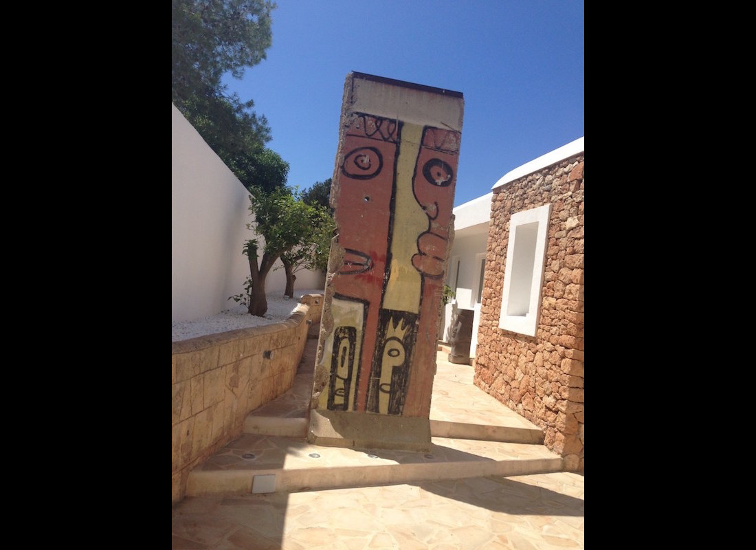 Berliner Mauer auf Ibiza, Spanien